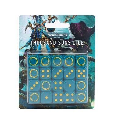 Würfelset der Thousand Sons Dice - Warhammer 40.000 - Games Workshop