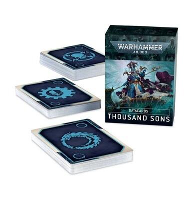 Datacards: Thousand Sons (Englisch) - Warhammer 40.000 - Games Workshop