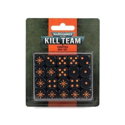 KILL TEAM: CHAOTICA DICE SET - Games Workshop
