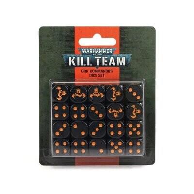 KILL TEAM: ORK KOMMANDOS DICE SET - Games Workshop