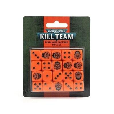 KILL TEAM: DEATH KORPS OF KRIEG DICE SET - Games Workshop