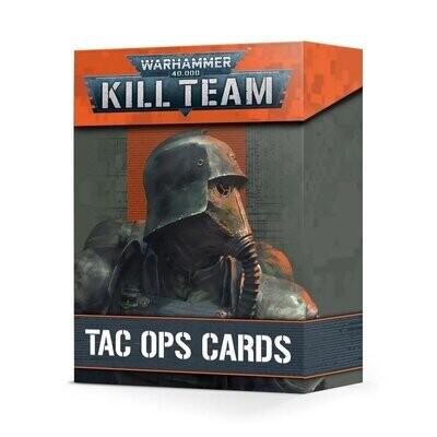 KILL TEAM: TAC OPS CARDS (ENGLISH) - Games Workshop