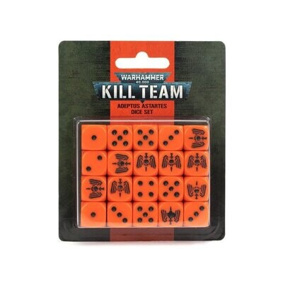 KILL TEAM: ADEPTUS ASTARTES DICE SET - Games Workshop