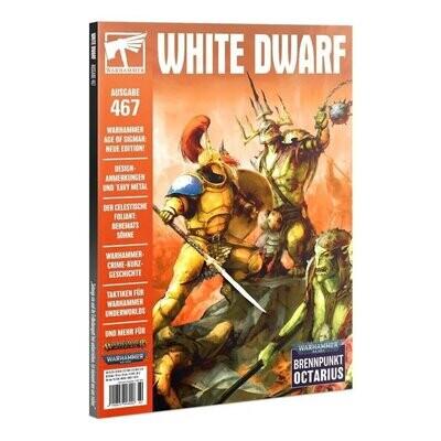 White Dwarf 467 - 2021 August (Deutsch) - Games Workshop