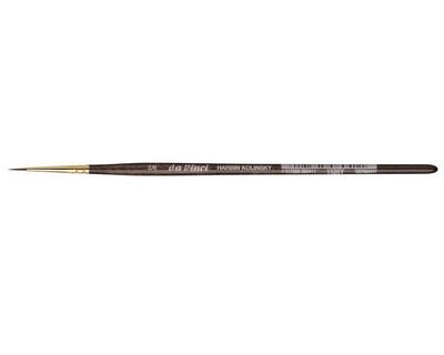 DA VINCI Rotmarder-Aquarellpinsel, Serie 1526Y Größe 2/0  - Da Vinci