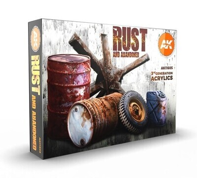 Rust and Abandoned  - AK Interactive
