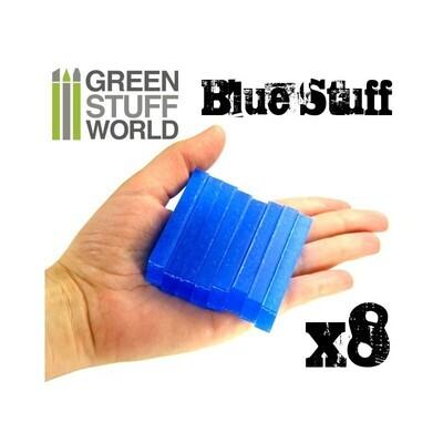 Blue Stuff Sofort Abformmasse - 8 Streifen - Greenstuff World