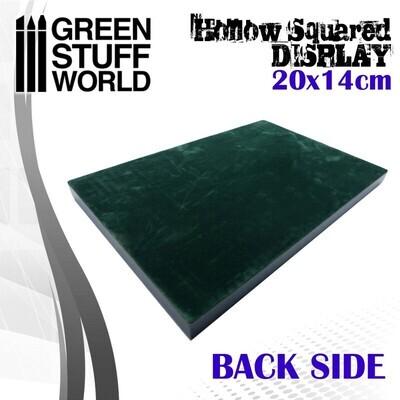 Leerer quadratischer Sockel 20x14 cm Display Plinth - Schwarz - Greenstuff World
