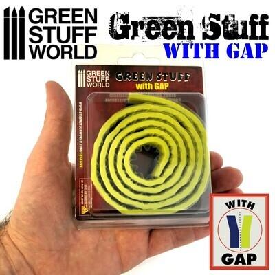 Green Stuff Modelliermasse Rolle 92 cm MIT TRENNUNG Gap - Greenstuff World