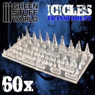 Stalaktiten und Eiszapfen aus Harz Icicles - Greenstuff World