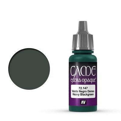 Heavy Black Green- Game Color Farbe Extra Opaque - Vallejo