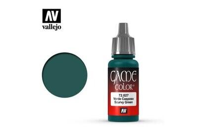 Scurvy Green- Game Color Farbe - Vallejo