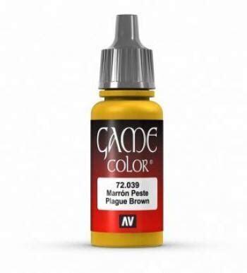 Plaque Brown - Game Color Farbe - Vallejo