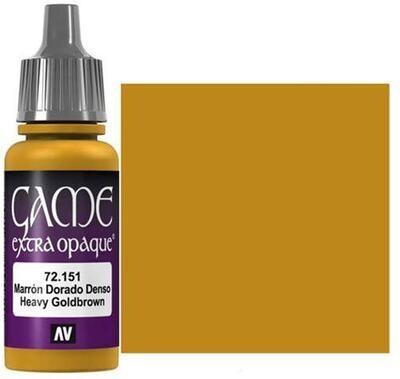 Heavy Goldbrown Extra Opaque - Game Color Farbe - Vallejo