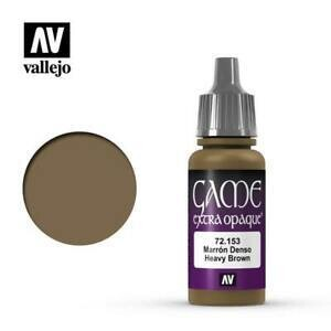 Heavy Brown - Game Color Farbe Extra Opaque - Vallejo
