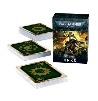 Datakarten: Orks (Deutsch) - Warhammer 40.000 - Games Workshop