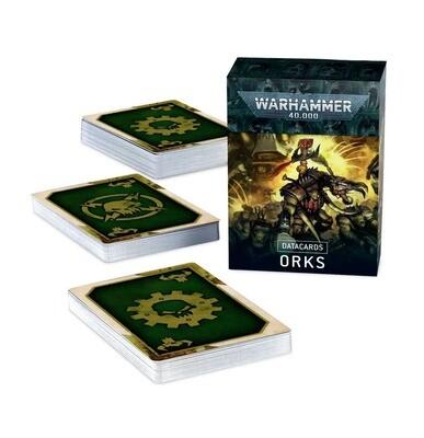 Datacards: Orks (Englisch) - Warhammer 40.000 - Games Workshop