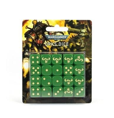 Würfelset der Orks Dice - Warhammer 40.000 - Games Workshop