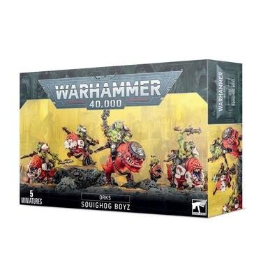 Grunzareita (Orks) Squighog Boyz - Warhammer 40.000 - Games Workshop