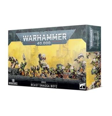 Viechjäga (Orks) Beast Snagga Boyz - Warhammer 40.000 - Games Workshop