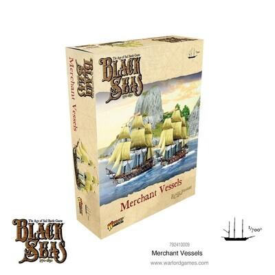 Merchant Vessels - Black Seas - Warlord Games