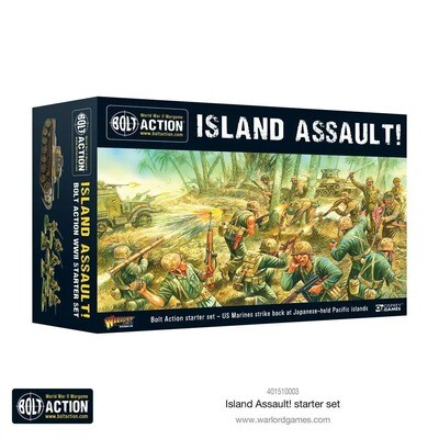 Island Assault! Bolt Action starter set (English) - Deutsch