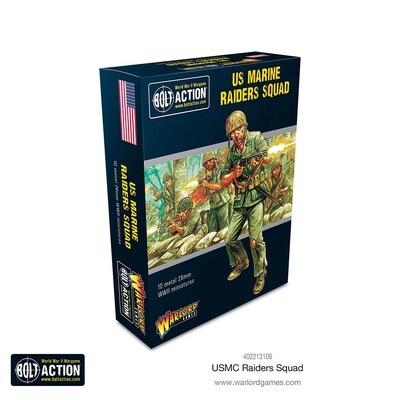 US Marine Raiders Squad - American -Bolt Action