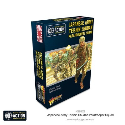 Japanese Army Teishin Shudan Paratroopers Squad - Bolt Action - Warlord Games