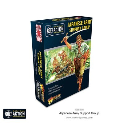 Japanese Support Group - Bolt Action - Warlord Games