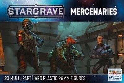 Stargrave Mercenaries - Science Fiction Wargame