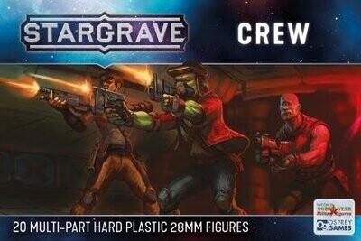 Stargrave Crew - Science Fiction Wargame