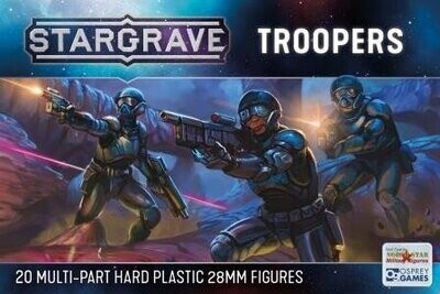 Stargrave Troopers - Science Fiction Wargame
