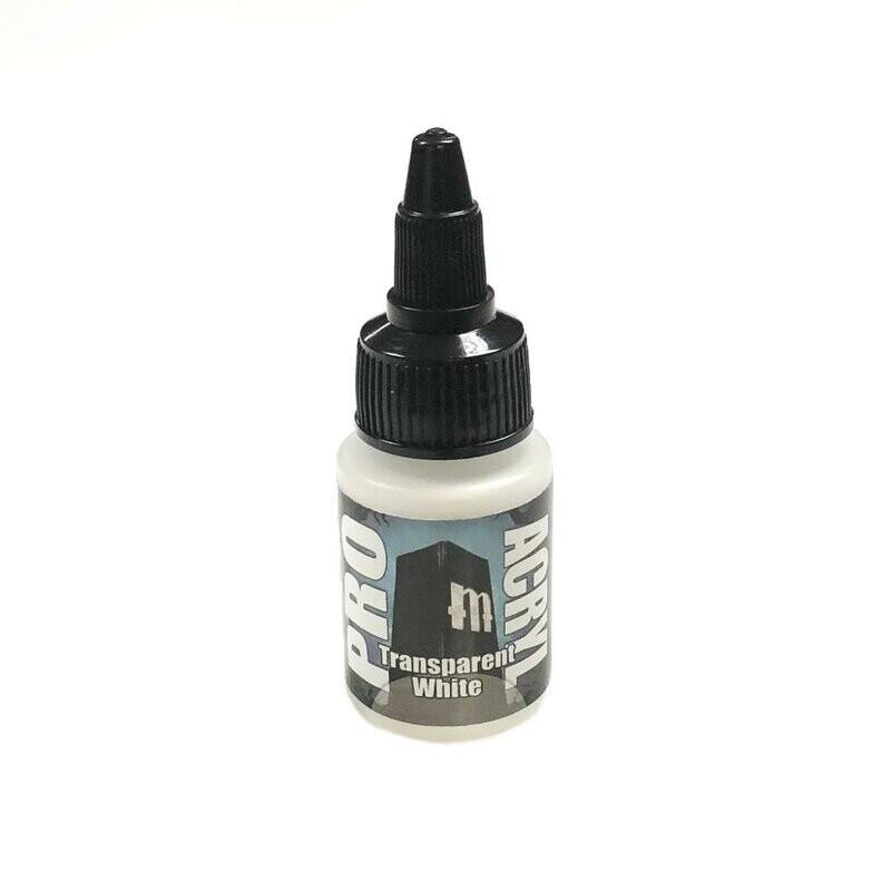 Pro Acryl Transparent White NEW!