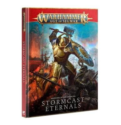 Battletome: Stormcast Eternals Deutsch - Warhammer Age of Sigmar - Games Workshop