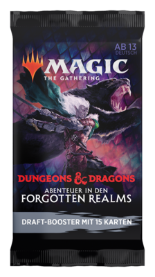 MTG - Adventures in the Forgotten Realms Draft Booster (1 Pack) - EN- Magic