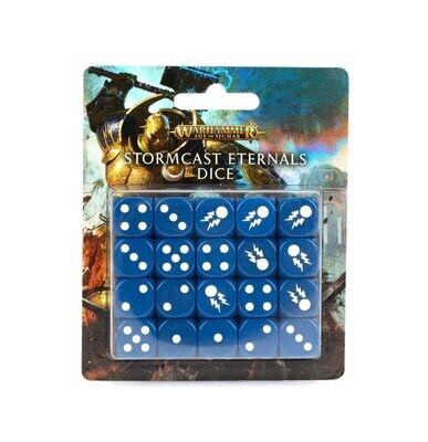 Stormcast Eternals Dice Set Würfel - Warhammer Age of Sigmar - Games Workshop