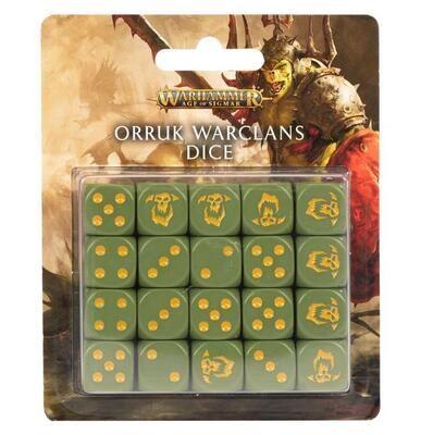 Orruk Warclans Dice Set Würfel - Games Workshop