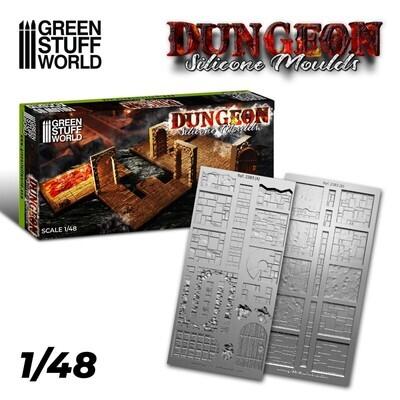 Silikon Texturplatten - Dungeon - Greenstuff World