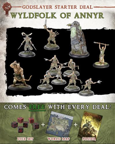 Wyldfolk of Annyr Starter Deal - Godslayer