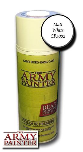 Matt White Undercoat - Army Painter Colour Primers