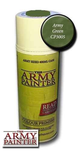 Army Green - Army Painter Colour Primers