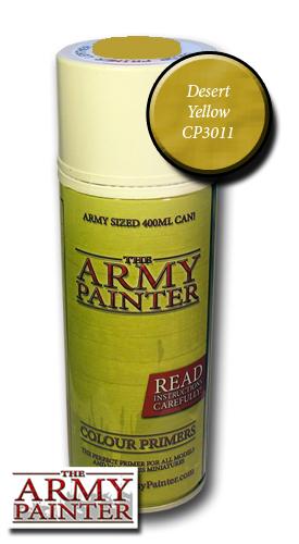 Desert Yellow - Army Painter Colour Primers