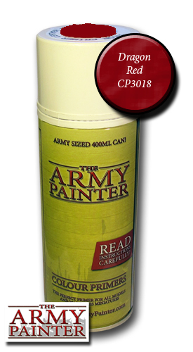 Dragon Red - Army Painter Colour Primers