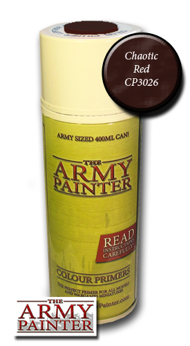Chaotic Red - Army Painter Colour Primers