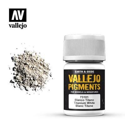 Titanium White 30ml - Vallejo - Pigment
