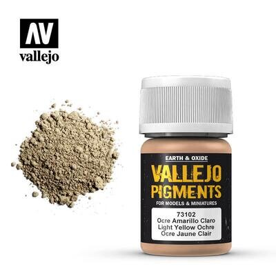 Light Yellow Ochre 30ml - Vallejo - Pigment