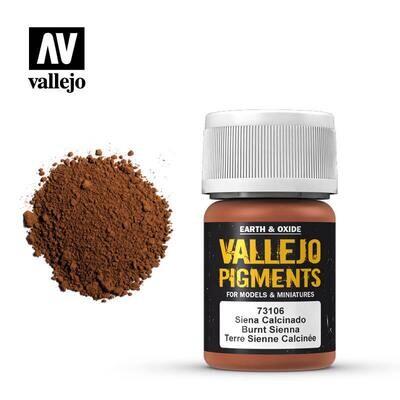 Burnt Sienna 30ml - Vallejo - Pigmente