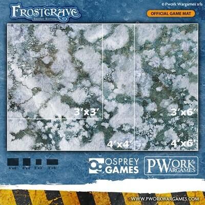 Frostgrave 3'x3' - Wargames Terrain Mat - Rubber Neoprene - PWork Wargames