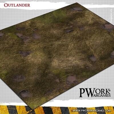 Outlander - Wargames Terrain Mat PVC Vinyl - 22x33