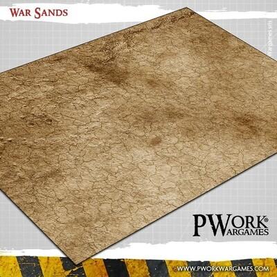 War Sands - Wargames Terrain Mat PVC Vinyl - 22x33